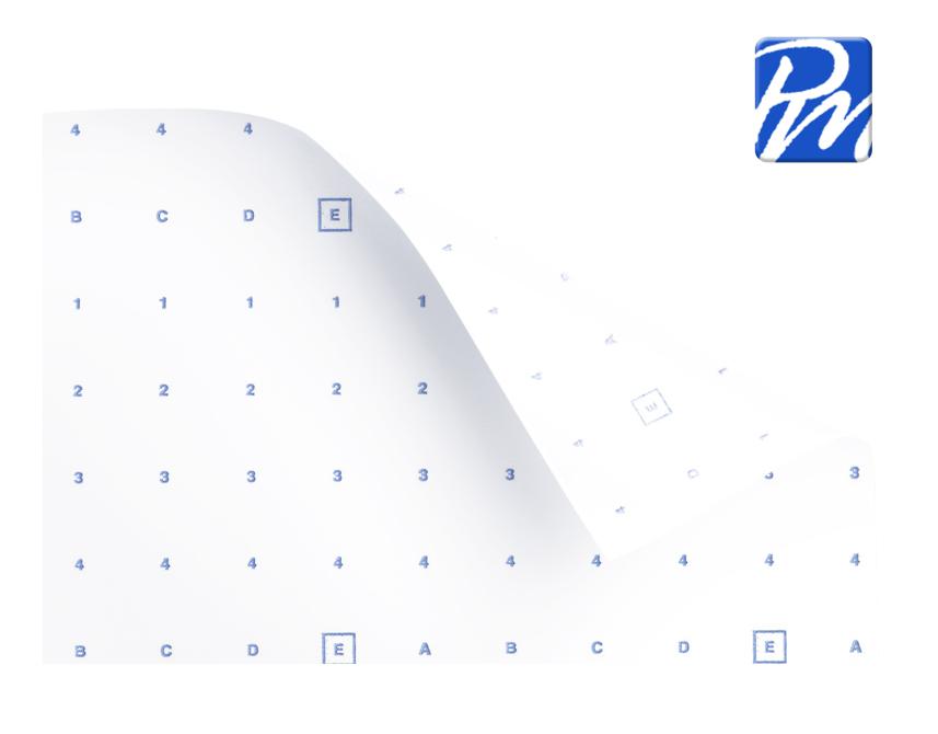 Heatseal Pattern Marking Paper - Supplied on rolls