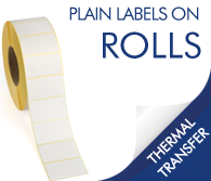 Plain Thermal Transfer Labels