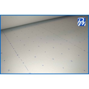 "Spot Cross Pattern Paper 36"" x 10m"